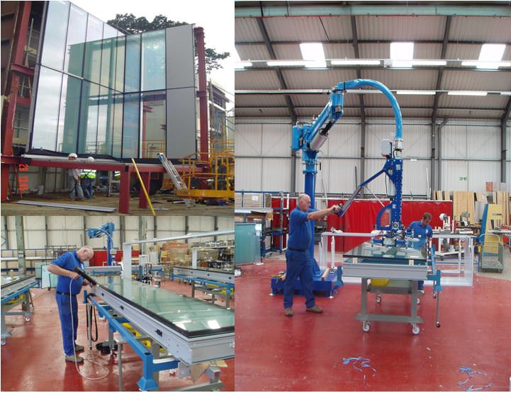 Unitised fabrication and test rig facilitys